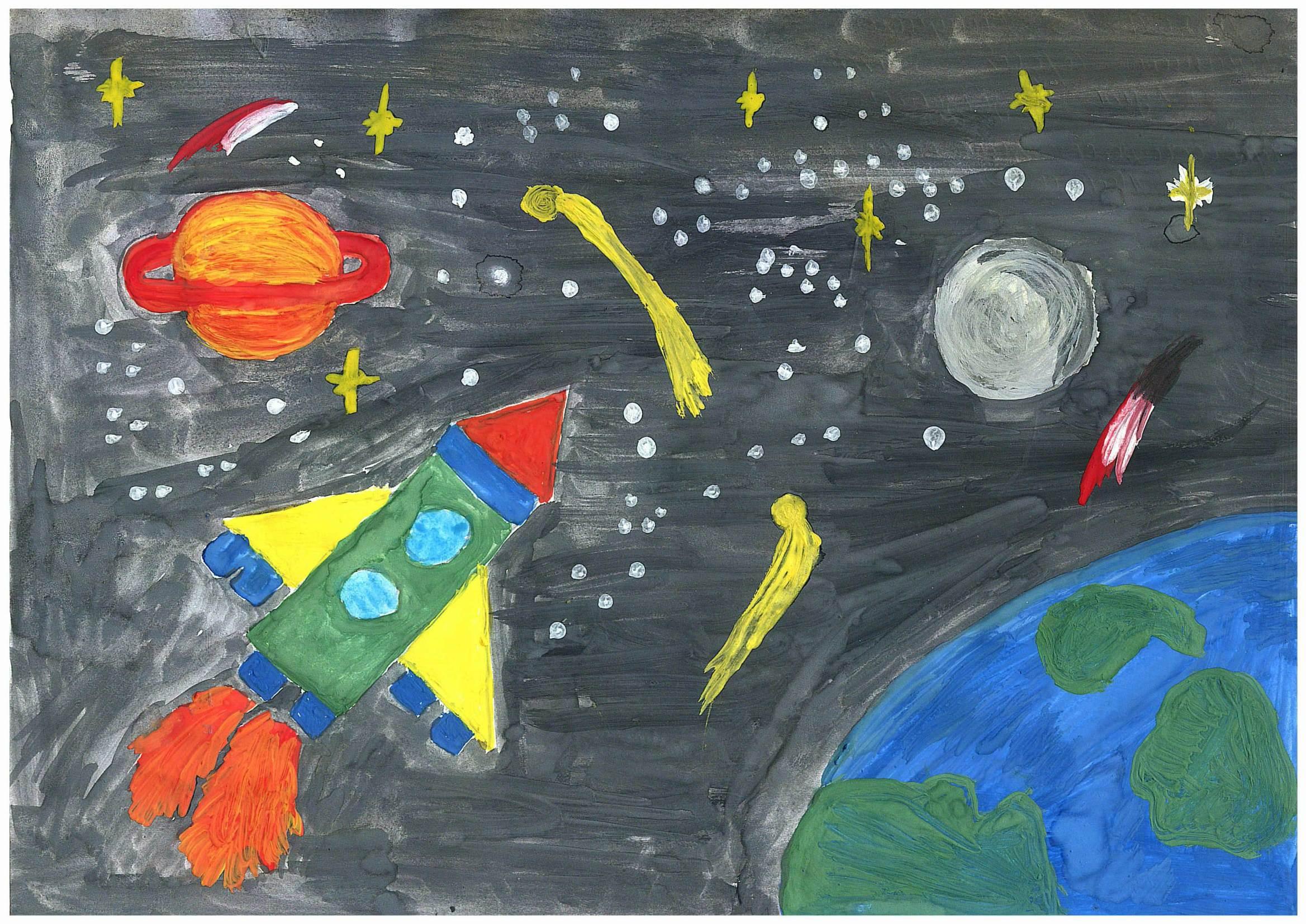 Поделки на тему космос - конкурс к Дню космонавтики 2018 33