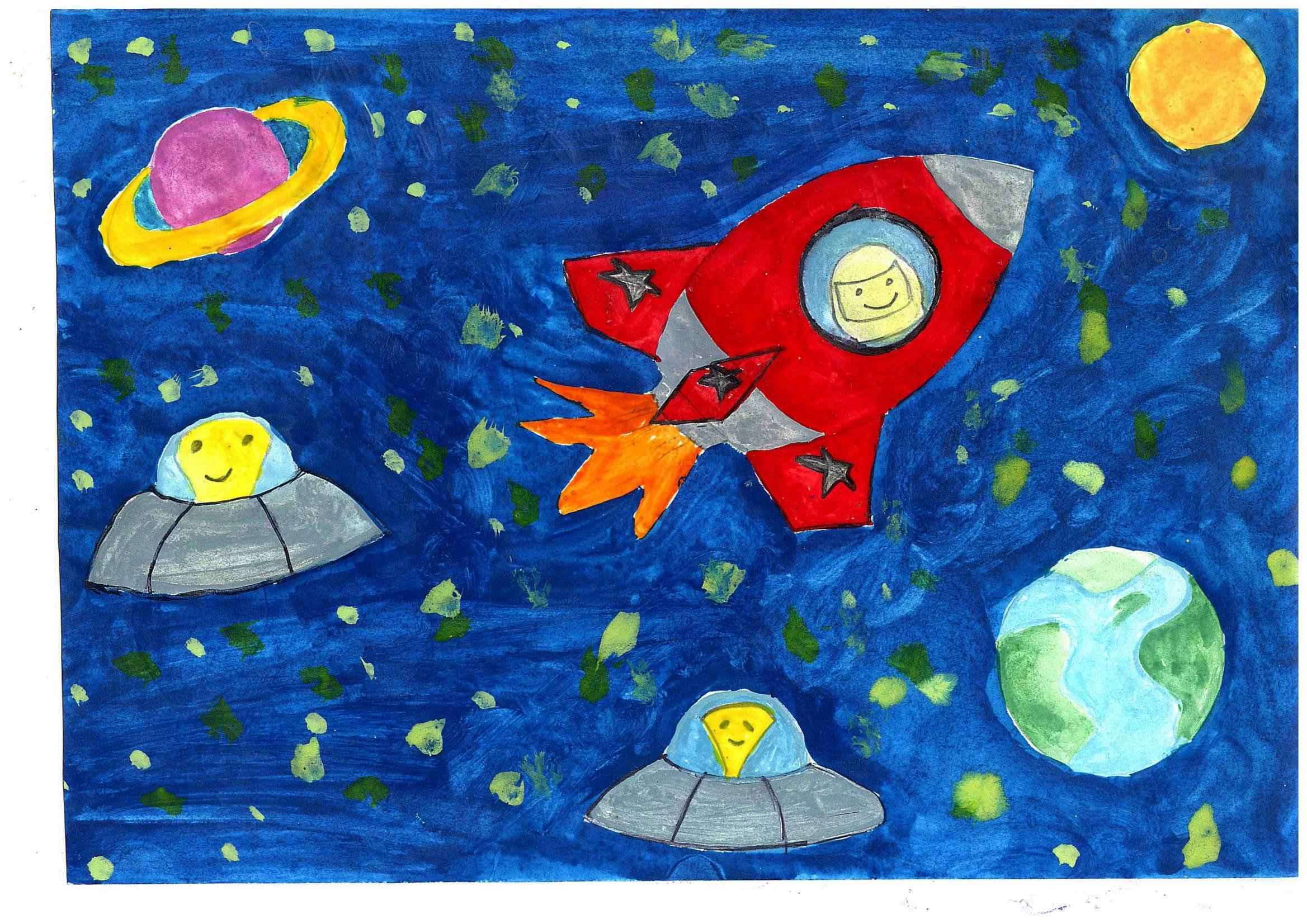 Поделки на тему космос - конкурс к Дню космонавтики 2018 68