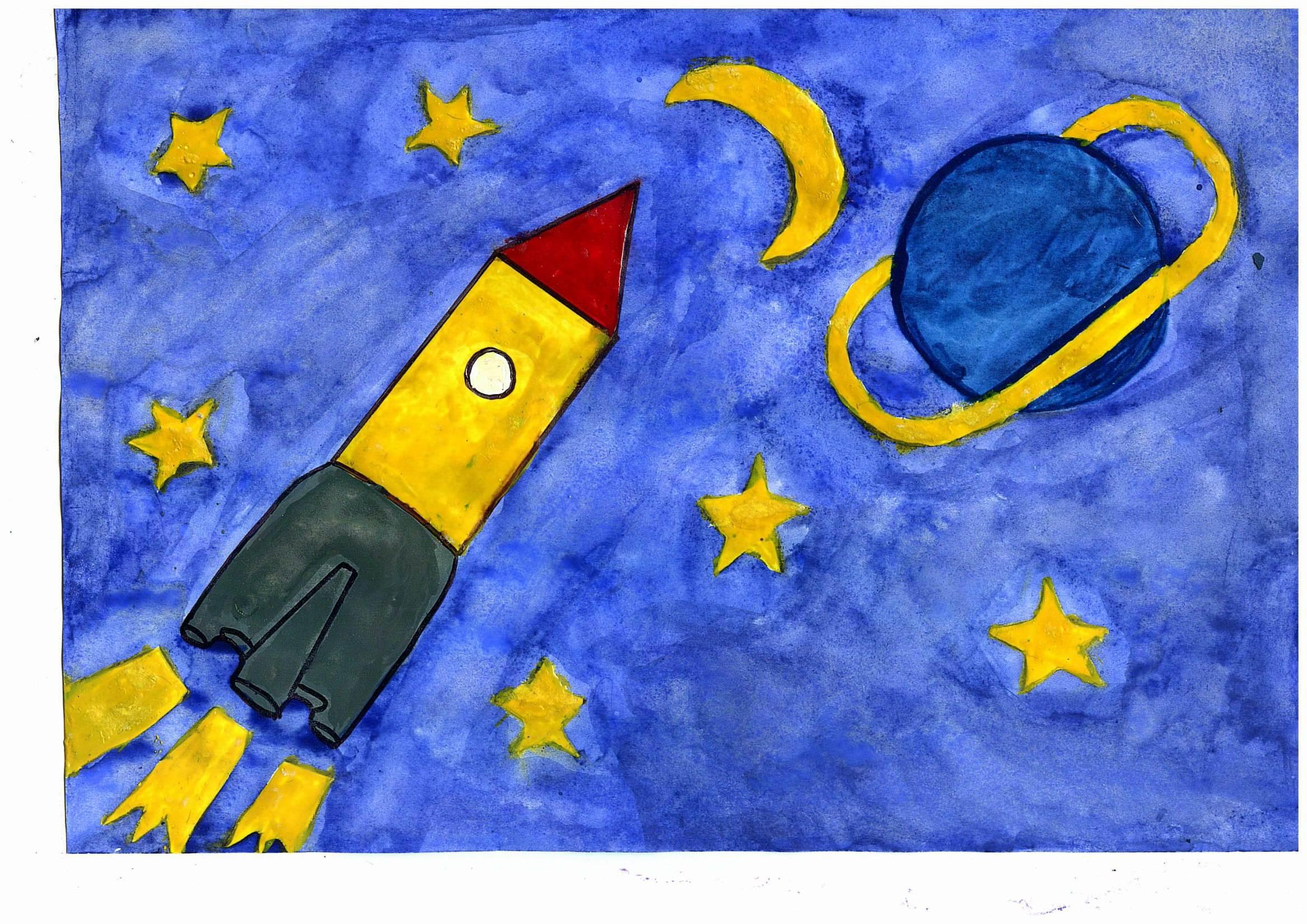 Поделки на тему космос - конкурс к Дню космонавтики 2018 36