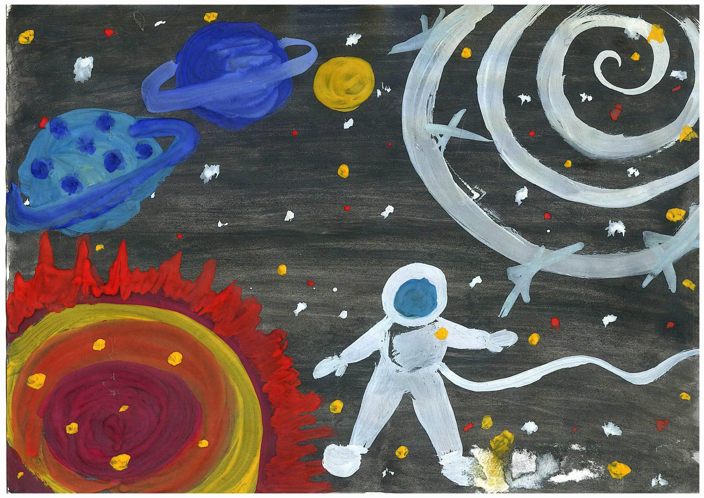 Поделки на тему космос - конкурс к Дню космонавтики 2018 58