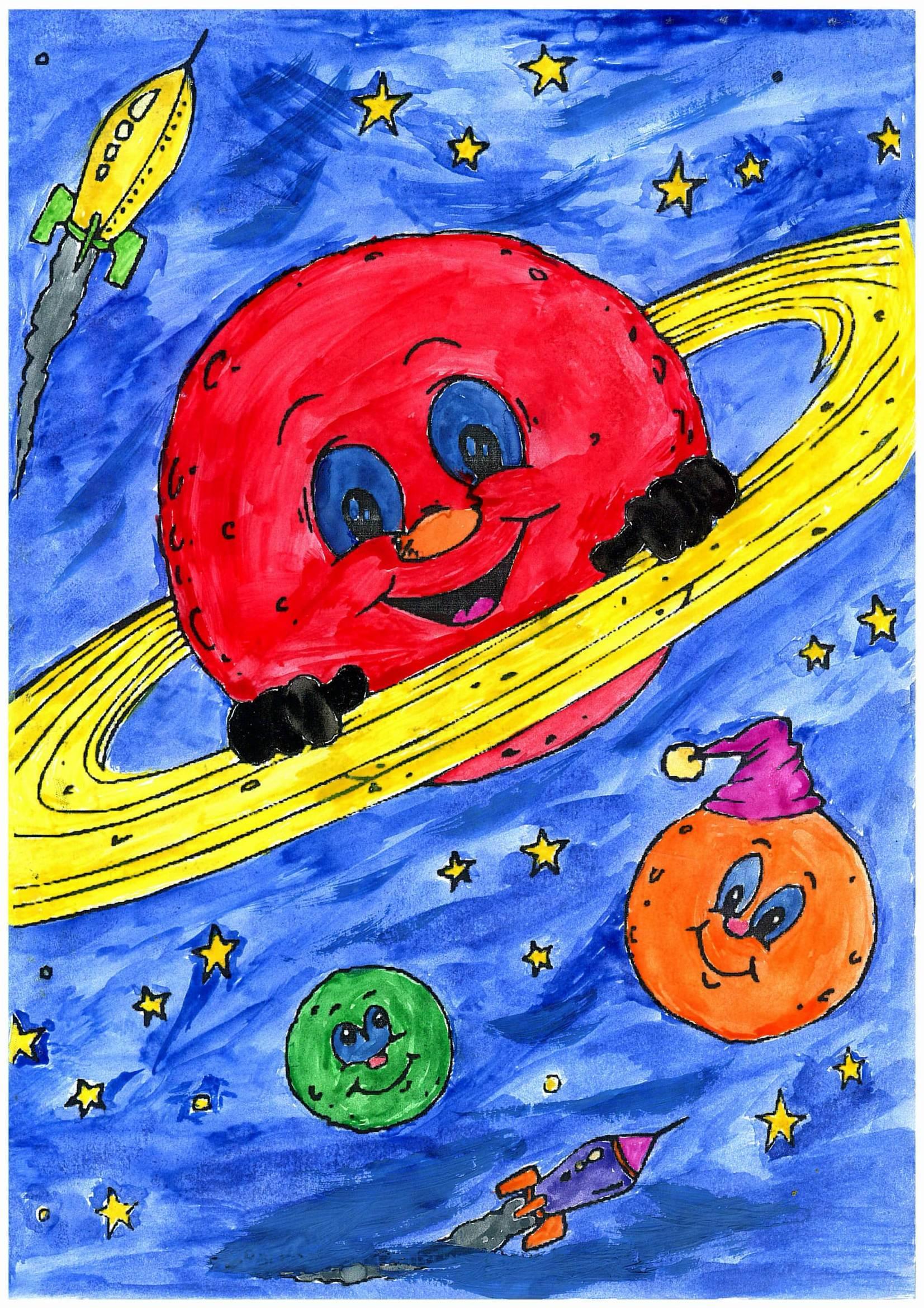 Поделки на тему космос - конкурс к Дню космонавтики 2018 38