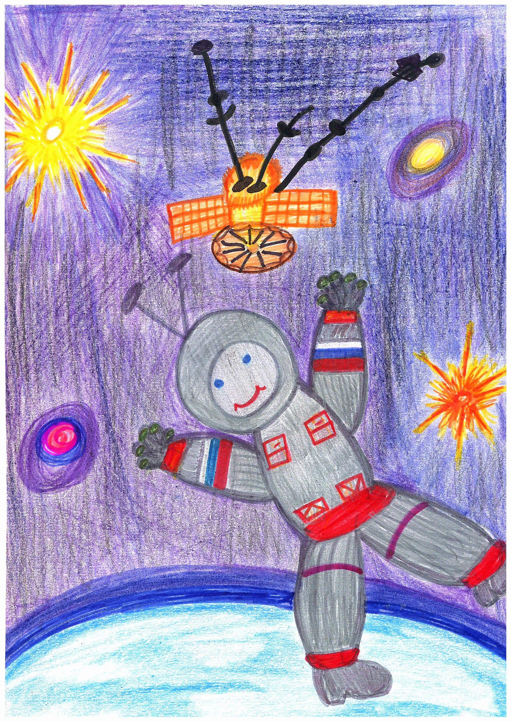 Поделки на тему космос - конкурс к Дню космонавтики 2018 65