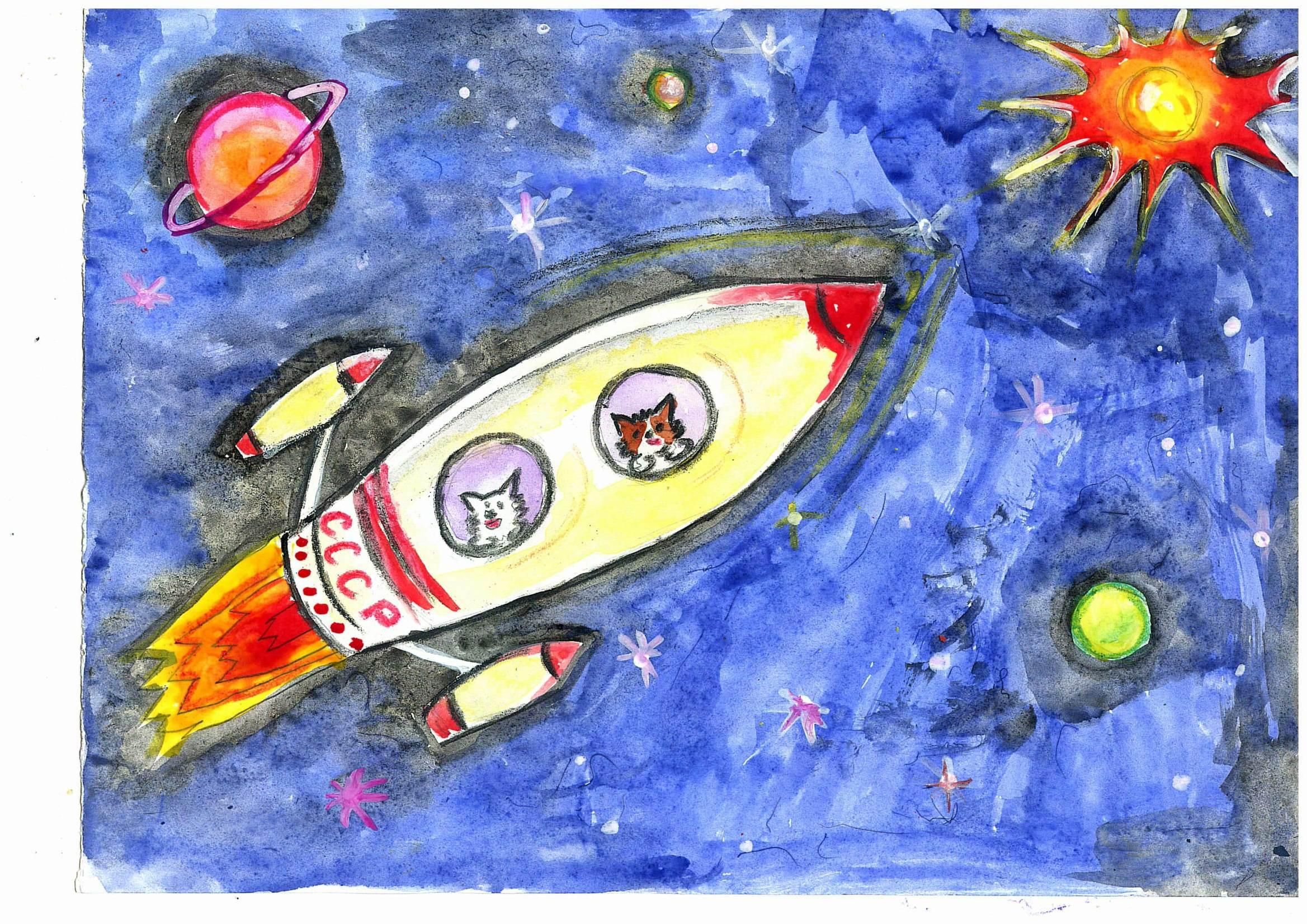 Поделки на тему космос - конкурс к Дню космонавтики 2018 90